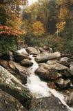 沿怀特沃特河的秋天 库存图片