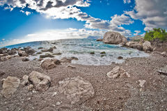 沿海克里米亚乌克兰 免版税图库摄影