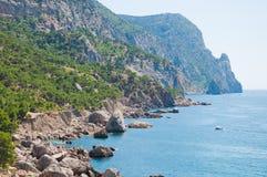 沿海克里米亚乌克兰 免版税库存照片