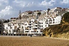 沿海城市阿尔布费拉 免版税库存照片