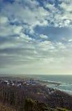 沿海城市 库存照片