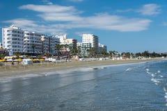 沿海岸区在拉纳卡塞浦路斯 库存图片