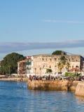 沿海岸区在桑给巴尔石头城,桑给巴尔,坦桑尼亚 库存图片