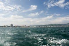 沿海岸旅行 免版税图库摄影