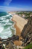 沿海峭壁 免版税库存图片