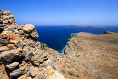 沿海希腊,希腊的美好的图片 免版税图库摄影