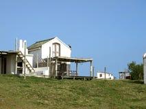 沿海房子 免版税库存照片