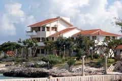 沿海房子 免版税库存图片