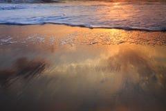 沿海抽象背景 免版税库存照片