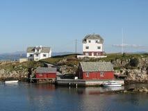 沿海挪威 免版税库存图片