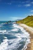沿海新的视图西兰 图库摄影