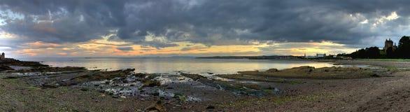 沿海横向苏格兰人 免版税库存图片