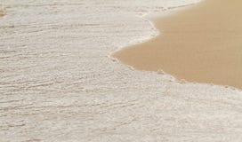 沿海沙子 图库摄影