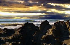 沿海海浪 库存图片