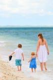 沿海滩系列热带走 图库摄影