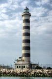 沿海灯塔 免版税库存图片