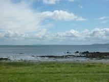 沿海爱尔兰,戈尔韦 图库摄影