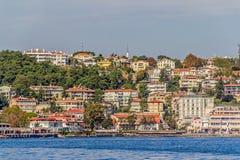 沿海的伊斯坦布尔 库存照片