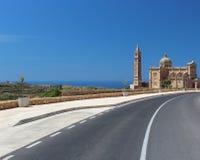 沿海的大教堂 免版税库存图片