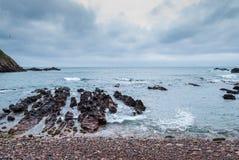 沿海看法 库存照片