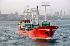 沿海航船 免版税图库摄影