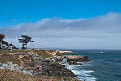 沿海视图 库存照片