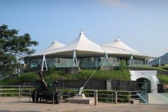 沿海防御Hk博物馆  库存图片