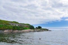 沿海风景。 库存照片
