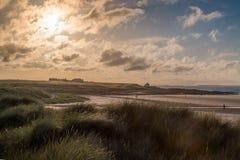 沿海风景视图 图库摄影