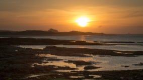 沿海风景视图 库存图片