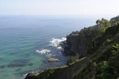 沿海风景 免版税图库摄影
