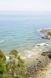 沿海风景 免版税库存照片