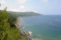 沿海风景 库存照片