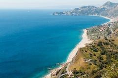 沿海equense横向阶索伦托vico 库存图片