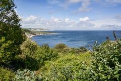 沿海equense横向阶索伦托vico 免版税图库摄影