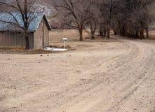沿牧人大农场路场面 免版税图库摄影