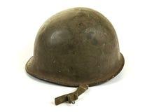 沿秋天配件箱国家(地区)邮件路s副u S WW2军队盔甲 库存照片