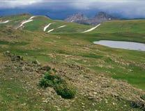 沿科罗拉多足迹,圣胡安范围,西南科罗拉多 库存照片