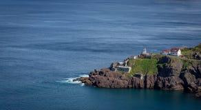 沿纽芬兰海岸的风景堡垒阿默斯特 免版税库存图片