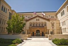 沿街叫卖者法学院大学 免版税库存照片