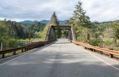 沿101的老桥梁 图库摄影