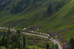 沿DuKu高速公路的风景 库存图片