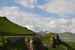 沿DuKu高速公路的风景 图库摄影