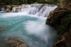 沿Havasu的瀑布 库存图片