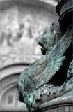 沿marco广场圣・威尼斯 免版税图库摄影