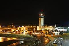 法兰克福哈恩机场在德国 库存图片