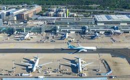 法兰克福国际机场天线  库存图片