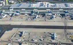 法兰克福国际机场天线  图库摄影