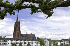 法兰克福大教堂 免版税库存照片