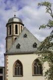 法兰克福教会  免版税库存照片